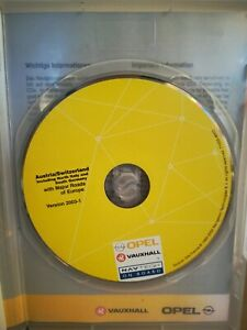 CD Navigation OPEL Siemens NCDR  NCDC SCHWEIZ ÖSTERREICH SÜDDEUTSCHLAND 2003