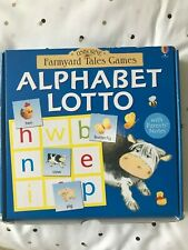 USBORNE Farmyard Tales Games Alphabet Lotto