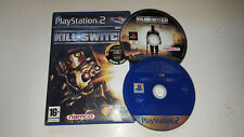 * Sony Playstation 2 Game * KILL SWITCH + MILITARY MULTI DEMO * PS2 N