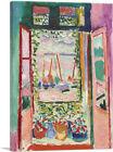 ARTCANVAS Open Window - Collioure 1905 Canvas Art Print by Henri Matisse