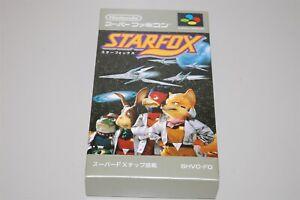 Starfox Japan Nintendo Super Famicom sfc game ( New ) Star Fox