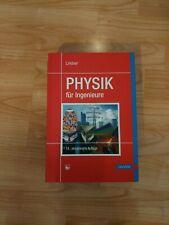 Physik für Ingenieure von Helmut Lindner (2014, Gebunden)
