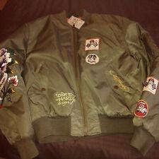 Ed Hardy jacket Bomber style