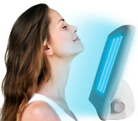 Facial Tanning Light Sun Solarium Lamp 110v Uv Goggles Face Tanner Bronzer Skin