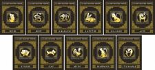 More details for tajikistan chinese lunar new year stamps 2020 mnh zodiac signs ox rat 11x 1v m/s