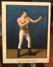 MECCA CIGARETTES BOXING CARD 1910 YOUNG GRIFFO