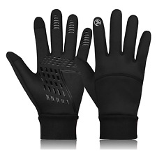 Mens Winter Warm Windproof Waterproof Anti-slip Thermal Touch Screen Ski Gloves