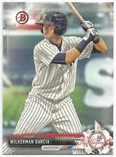 Wilkerman Garcia New York Yankees 2017 Bowman Prospects