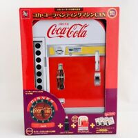 Coca-Cola 120th Memorial 60's Vending Machine Tin Box with Special Goods Japan