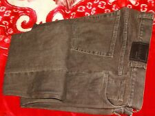MEN'S CANALI BROWN DESIGNER JEAN TROUSERS UK W38,XL36