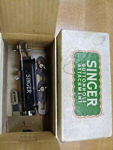 Vintage Singer Sewing Machine Parts Buttonhole Attachment in The Original Box