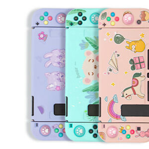 For Nintendo Switch - Cute Pattern Soft Silicone Rubber Protective Case Cover