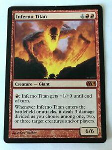 1x MTG - Inferno Titan - Magic 2011 (M11) - Played