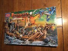 BOITE LEGO MEGA BLOKS 9895 DRAGONS KRYSTAL WARS MAN O WAR NEUF