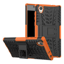Shockproof Sony Xperia L1 Case Hard Protective Kickstand Slim Phone Cover