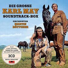 MARTIN BÖTTCHER - DIE GROßE KARL MAY SOUNDTRACK-BOX  3 CD NEU