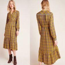 NEW! Anthropologie Dalton Wrap Maxi Dress, size small