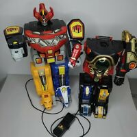 1994 Marchon Mighty Morpin Power Rangers R/C Megazord Robot Does not work/parts.