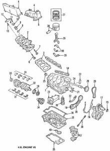 OEM NEW 2006-2010 Ford Ranger Explorer Mountaineer 4.0L Exhaust Valve 2L2Z6505AA