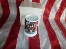 WWF WWE Danbury Mint 2 Cool Scotty 2 Hotty  Cup Wrestling Mug Glass Limited Ed