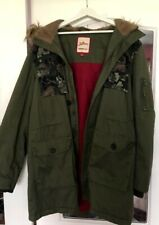 Joe Brown mens Parka coat size is Extra Large good condition