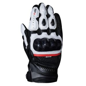 Oxford RP-4 2.0 Short Sports Motorcycle Glove Black & White All Sizes