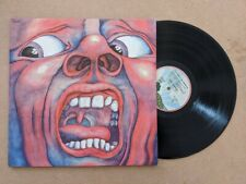 LP 33T KING CRIMSON IN THE COURT OF THE FRENCH PRESS EXC ETAT