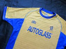 CHELSEA LONDON Away Shirt by UMBRO RARE 2000-2001 /men/yellow/ XL