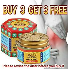 """""""BUY 3 GET 3 FREE"""" Tiger Balm Ointment Herbal Rub Arthritis Pain relief massage"""