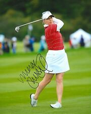 MORGAN PRESSEL signed LPGA 8x10 SOLHEIM CUP photo with COA A