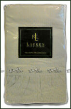 Ralph Lauren KING Pillowcases Villandry Check Blue NIP New RARE Cotton