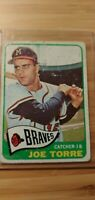 1965 Topps Joe Torre Card # 200 Atlanta Braves Good Condition