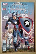 CAPTAIN AMERICA STEVE ROGERS #1 SECOND PRINT MARVEL COMICS (2016)