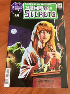 House of Secrets #92 1st app Swamp Thing Facsimile edition 2019 VF/NM DC comics