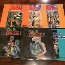 Gall Force (6) Laserdisc Set English Version US Manga Corp/Image