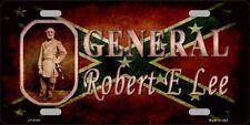 PLAQUE DE VOITURE AMERICAINE-GENERAL ROBERT LEE- NEUVE  DECO USA/SUD/BIKER