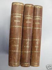 LARDNER - MUSEO DELLE SCIENZE E DELLE ARTI - CIELO - TERRA - FISICA 3 VOL. 1860