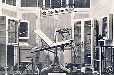 Médicale grand magasin GERLING Hildesheim Publicité 1924 magasin spécialisé op Gynéco chaise