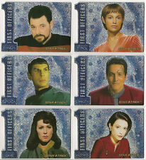 Star Trek 40th Anniversary Number One First Officers Chase Set N1-N6