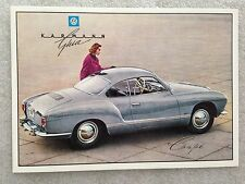 Volkswagen Karman Ghia Lady Coupe Post Card 1st On eBay Car Postcard. Own It!