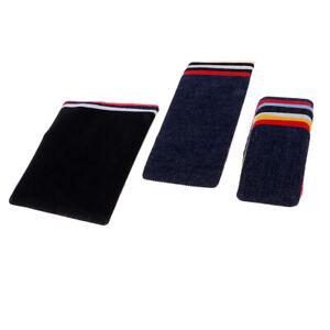 18Pcs/set Iron On Denim Repairing Decorative Patches Kit For Mens Jeans Pant