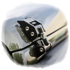 Jeep Wrangler JK Haubenhalter Set Haubenhaken schwarz Aluminium verstellbar 07-
