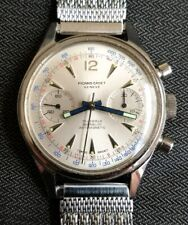 MINT Picard Cadet Mechanical Chronograph Watch Valjoux