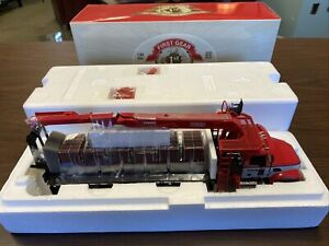 First Gear Mack Granite W/ Extended Material Handler Body Diecast Metal Replica