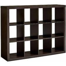 Display Storage Bookcase 12 Cube Organizer Rack Stand Stack Shelves Vinyl Record