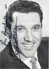 """""""José RIVERA"""" Photo originale dédicacée PASTIS 45 BERGER années 50 (10,5x15cm)"""
