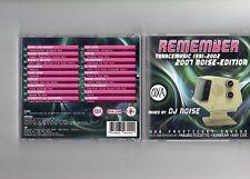 DJ Noise OXA Remember Trance Music 1991 - 2002 (2007 Noise) CD - TBA SWITZERLAND