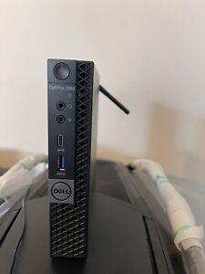 DELL 7060 Micro Desktop Computer i7 8700T 16GB 256GB nvme W10P