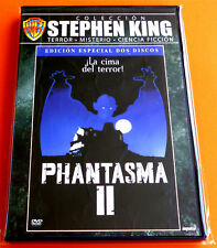 PHANTASMA II 2 DVD English Español Italiano DVD R2 - Nuevo