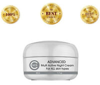Retinol Night Cream Youth Renewal Anti Aging, Full Size 50 mL